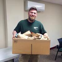 Wm. Henderson Feeds the Homeless 2017