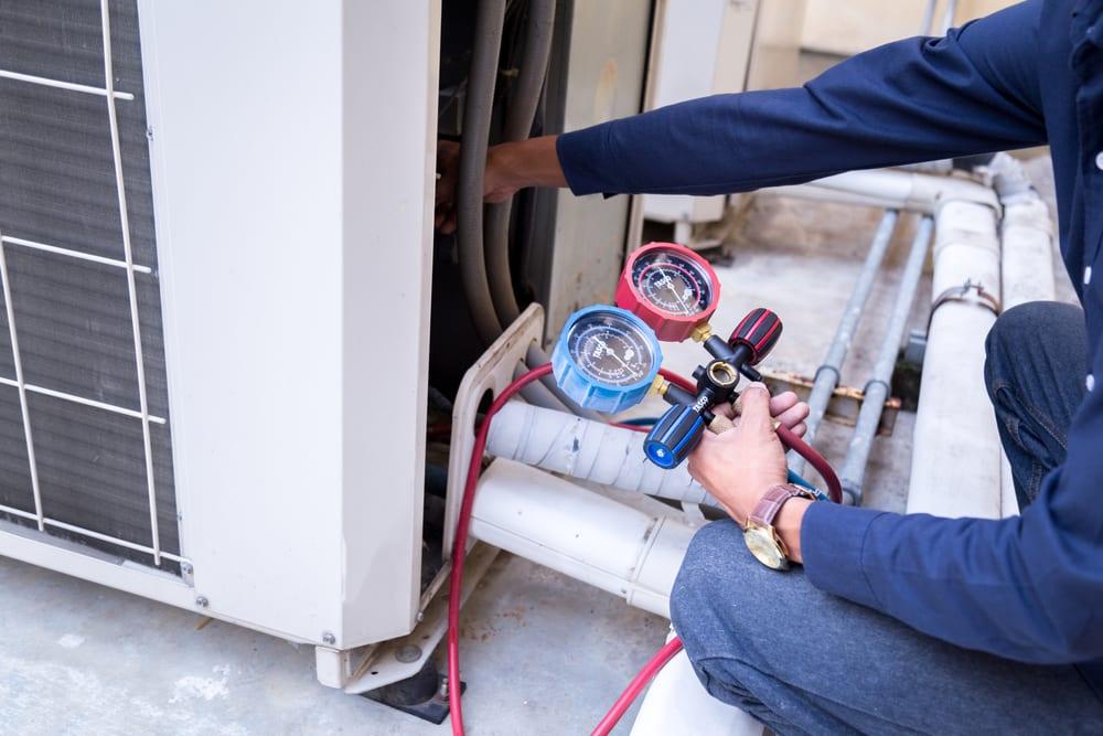 Air Conditioner Refrigerant Leak